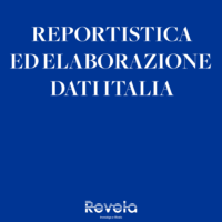 ITALIA: REPORTISTICA ED ELABORAZIONE DATI