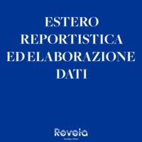ESTERO: REPORTISTICA ED ELABORAZIONE DATI