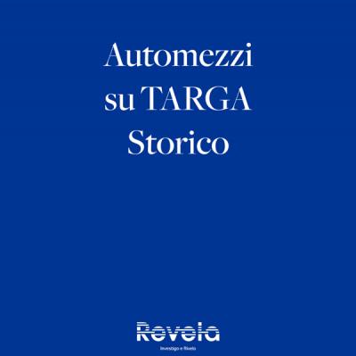 Automezzi su Targa Storico